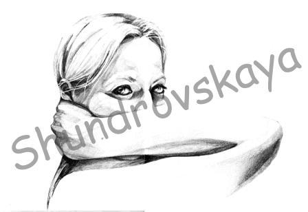 glaza devushki Она шундровская художник скетч рисунок портрет Ольга Шундровская настроение наброски зарисовки графика Character Design character